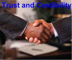 Membangun kepercayaan sesama terhadap diri kita melalui kredibilitas